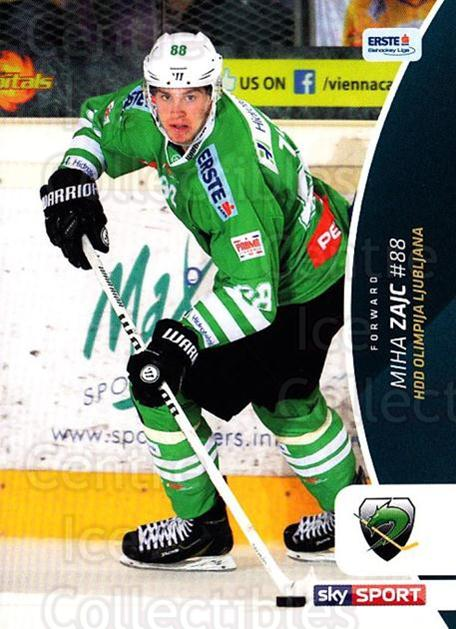 2016-17 Erste Bank Eishockey Liga EBEL #365 Miha Zajc<br/>2 In Stock - $2.00 each - <a href=https://centericecollectibles.foxycart.com/cart?name=2016-17%20Erste%20Bank%20Eishockey%20Liga%20EBEL%20%23365%20Miha%20Zajc...&quantity_max=2&price=$2.00&code=692467 class=foxycart> Buy it now! </a>
