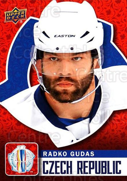 2016 Upper Deck World Cup of Hockey #7 Radko Gudas<br/>2 In Stock - $2.00 each - <a href=https://centericecollectibles.foxycart.com/cart?name=2016%20Upper%20Deck%20World%20Cup%20of%20Hockey%20%237%20Radko%20Gudas...&quantity_max=2&price=$2.00&code=692661 class=foxycart> Buy it now! </a>
