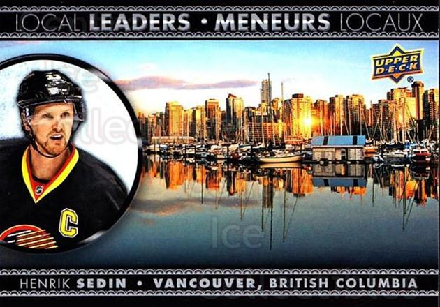 2016-17 Tim Hortons Local Leaders #6 Henrik Sedin<br/>14 In Stock - $2.00 each - <a href=https://centericecollectibles.foxycart.com/cart?name=2016-17%20Tim%20Hortons%20Local%20Leaders%20%236%20Henrik%20Sedin...&quantity_max=14&price=$2.00&code=692715 class=foxycart> Buy it now! </a>