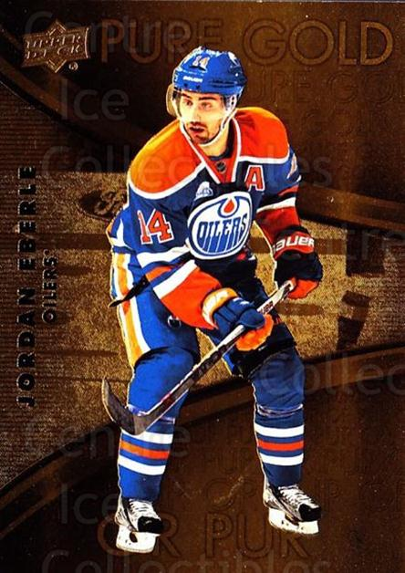 2016-17 Tim Hortons Pure Gold #7 Jordan Eberle<br/>11 In Stock - $2.00 each - <a href=https://centericecollectibles.foxycart.com/cart?name=2016-17%20Tim%20Hortons%20Pure%20Gold%20%237%20Jordan%20Eberle...&quantity_max=11&price=$2.00&code=692723 class=foxycart> Buy it now! </a>