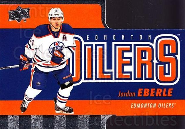 2015-16 Tim Hortons Die Cuts #5 Jordan Eberle<br/>17 In Stock - $2.00 each - <a href=https://centericecollectibles.foxycart.com/cart?name=2015-16%20Tim%20Hortons%20Die%20Cuts%20%235%20Jordan%20Eberle...&quantity_max=17&price=$2.00&code=692736 class=foxycart> Buy it now! </a>