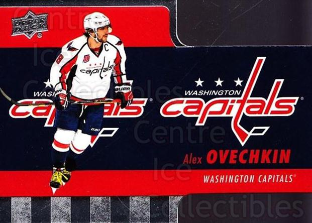 2015-16 Tim Hortons Die Cuts #7 Alexander Ovechkin<br/>17 In Stock - $2.00 each - <a href=https://centericecollectibles.foxycart.com/cart?name=2015-16%20Tim%20Hortons%20Die%20Cuts%20%237%20Alexander%20Ovech...&price=$2.00&code=692738 class=foxycart> Buy it now! </a>
