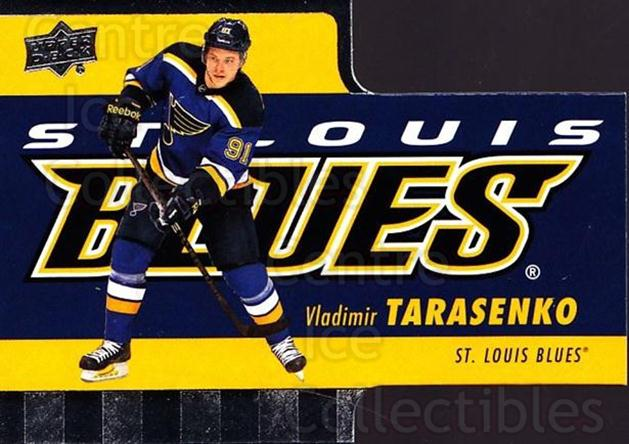 2015-16 Tim Hortons Die Cuts #14 Vladimir Tarasenko<br/>17 In Stock - $2.00 each - <a href=https://centericecollectibles.foxycart.com/cart?name=2015-16%20Tim%20Hortons%20Die%20Cuts%20%2314%20Vladimir%20Tarase...&quantity_max=17&price=$2.00&code=692745 class=foxycart> Buy it now! </a>