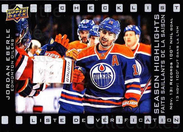 2015-16 Tim Hortons Season Highlights #2 Jordan Eberle<br/>19 In Stock - $2.00 each - <a href=https://centericecollectibles.foxycart.com/cart?name=2015-16%20Tim%20Hortons%20Season%20Highlights%20%232%20Jordan%20Eberle...&quantity_max=19&price=$2.00&code=692748 class=foxycart> Buy it now! </a>