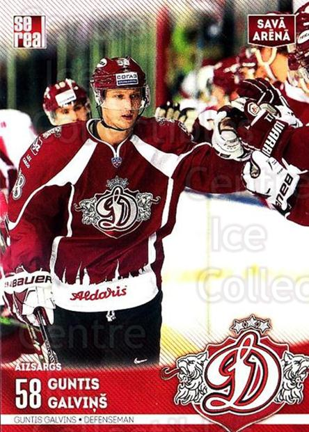 2015-16 Russian KHL Dinamo Riga #H07 Guntis Galvins<br/>1 In Stock - $3.00 each - <a href=https://centericecollectibles.foxycart.com/cart?name=2015-16%20Russian%20KHL%20Dinamo%20Riga%20%23H07%20Guntis%20Galvins...&price=$3.00&code=692772 class=foxycart> Buy it now! </a>