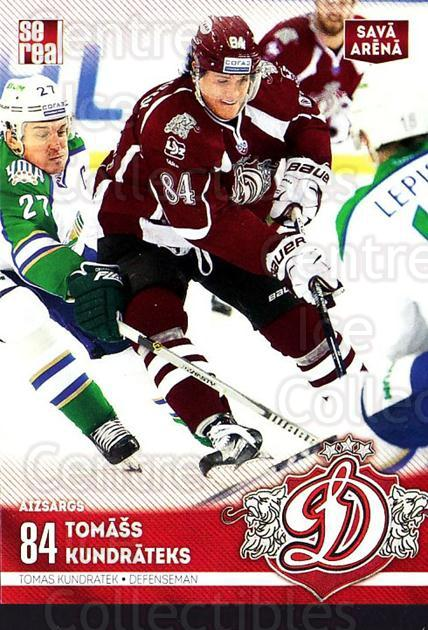 2015-16 Russian KHL Dinamo Riga #H10 Tomass Kundrateks<br/>1 In Stock - $3.00 each - <a href=https://centericecollectibles.foxycart.com/cart?name=2015-16%20Russian%20KHL%20Dinamo%20Riga%20%23H10%20Tomass%20Kundrate...&price=$3.00&code=692775 class=foxycart> Buy it now! </a>