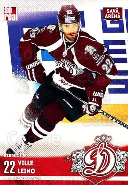 2015-16 Russian KHL Dinamo Riga #H22 Ville Leino<br/>1 In Stock - $3.00 each - <a href=https://centericecollectibles.foxycart.com/cart?name=2015-16%20Russian%20KHL%20Dinamo%20Riga%20%23H22%20Ville%20Leino...&price=$3.00&code=692787 class=foxycart> Buy it now! </a>