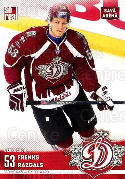 2015-16 Russian KHL Dinamo Riga #H26 Frenks Razgals<br/>1 In Stock - $3.00 each - <a href=https://centericecollectibles.foxycart.com/cart?name=2015-16%20Russian%20KHL%20Dinamo%20Riga%20%23H26%20Frenks%20Razgals...&price=$3.00&code=692791 class=foxycart> Buy it now! </a>