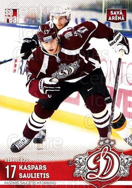 2015-16 Russian KHL Dinamo Riga #H28 Kaspars Saulietid<br/>1 In Stock - $3.00 each - <a href=https://centericecollectibles.foxycart.com/cart?name=2015-16%20Russian%20KHL%20Dinamo%20Riga%20%23H28%20Kaspars%20Sauliet...&price=$3.00&code=692793 class=foxycart> Buy it now! </a>