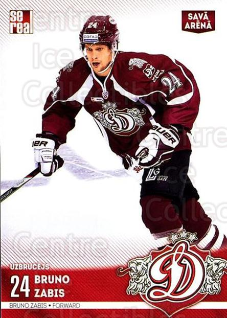 2015-16 Russian KHL Dinamo Riga #H33 Bruno Zabis<br/>1 In Stock - $3.00 each - <a href=https://centericecollectibles.foxycart.com/cart?name=2015-16%20Russian%20KHL%20Dinamo%20Riga%20%23H33%20Bruno%20Zabis...&price=$3.00&code=692798 class=foxycart> Buy it now! </a>
