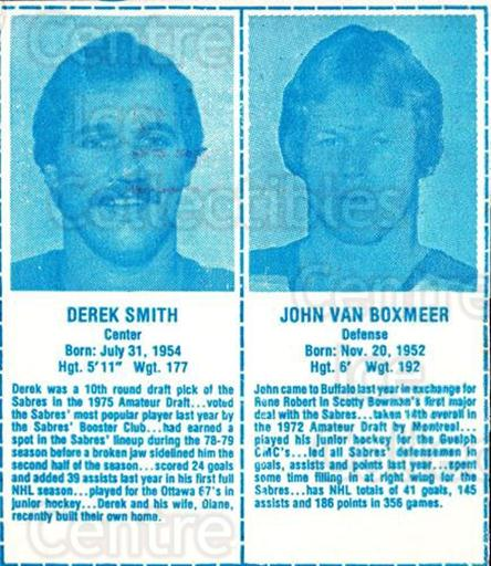 1980-81 Buffalo Sabres Milk Cartons Light Blue #3 Derek Smith, John Van Boxmeer<br/>1 In Stock - $10.00 each - <a href=https://centericecollectibles.foxycart.com/cart?name=1980-81%20Buffalo%20Sabres%20Milk%20Cartons%20Light%20Blue%20%233%20Derek%20Smith,%20Jo...&quantity_max=1&price=$10.00&code=692898 class=foxycart> Buy it now! </a>