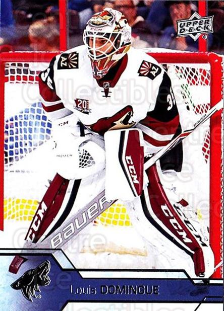 2016-17 Upper Deck #262 Louis Domingue<br/>9 In Stock - $1.00 each - <a href=https://centericecollectibles.foxycart.com/cart?name=2016-17%20Upper%20Deck%20%23262%20Louis%20Domingue...&quantity_max=9&price=$1.00&code=692966 class=foxycart> Buy it now! </a>