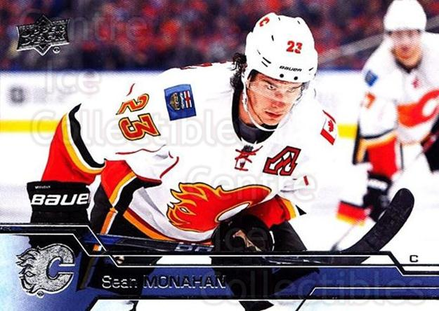 2016-17 Upper Deck #279 Sean Monahan<br/>11 In Stock - $1.00 each - <a href=https://centericecollectibles.foxycart.com/cart?name=2016-17%20Upper%20Deck%20%23279%20Sean%20Monahan...&quantity_max=11&price=$1.00&code=692983 class=foxycart> Buy it now! </a>