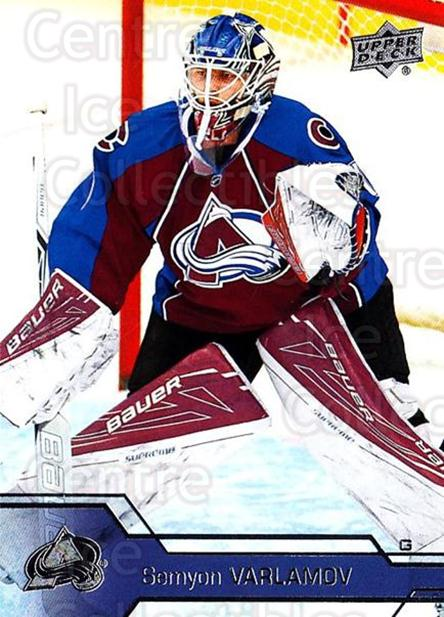 2016-17 Upper Deck #301 Semyon Varlamov<br/>10 In Stock - $1.00 each - <a href=https://centericecollectibles.foxycart.com/cart?name=2016-17%20Upper%20Deck%20%23301%20Semyon%20Varlamov...&quantity_max=10&price=$1.00&code=693005 class=foxycart> Buy it now! </a>
