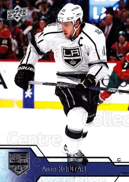 2016-17 Upper Deck #338 Anze Kopitar<br/>11 In Stock - $1.00 each - <a href=https://centericecollectibles.foxycart.com/cart?name=2016-17%20Upper%20Deck%20%23338%20Anze%20Kopitar...&quantity_max=11&price=$1.00&code=693042 class=foxycart> Buy it now! </a>