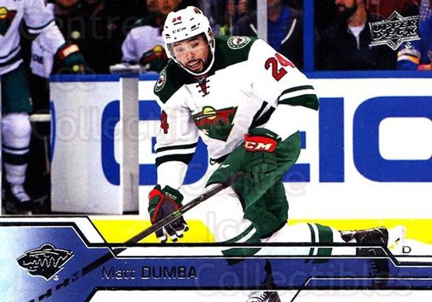 2016-17 Upper Deck #342 Matt Dumba<br/>12 In Stock - $1.00 each - <a href=https://centericecollectibles.foxycart.com/cart?name=2016-17%20Upper%20Deck%20%23342%20Matt%20Dumba...&quantity_max=12&price=$1.00&code=693046 class=foxycart> Buy it now! </a>
