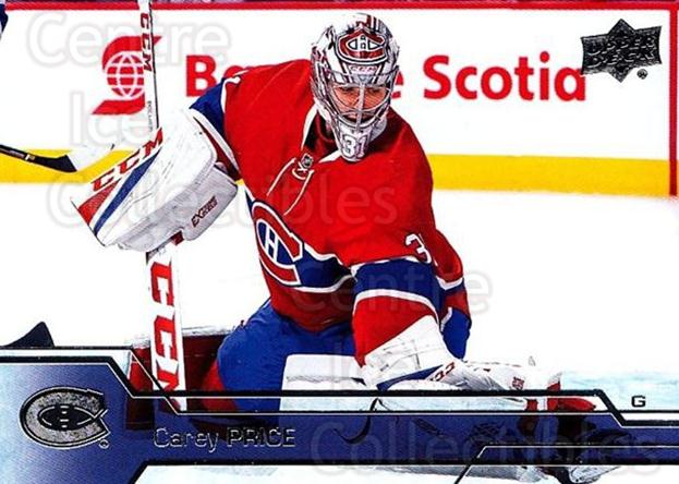 2016-17 Upper Deck #349 Carey Price<br/>1 In Stock - $3.00 each - <a href=https://centericecollectibles.foxycart.com/cart?name=2016-17%20Upper%20Deck%20%23349%20Carey%20Price...&quantity_max=1&price=$3.00&code=693053 class=foxycart> Buy it now! </a>