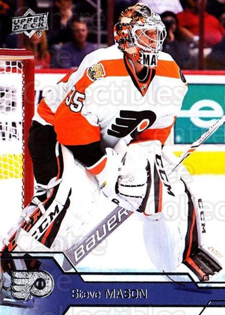 2016-17 Upper Deck #389 Steve Mason<br/>12 In Stock - $1.00 each - <a href=https://centericecollectibles.foxycart.com/cart?name=2016-17%20Upper%20Deck%20%23389%20Steve%20Mason...&quantity_max=12&price=$1.00&code=693093 class=foxycart> Buy it now! </a>