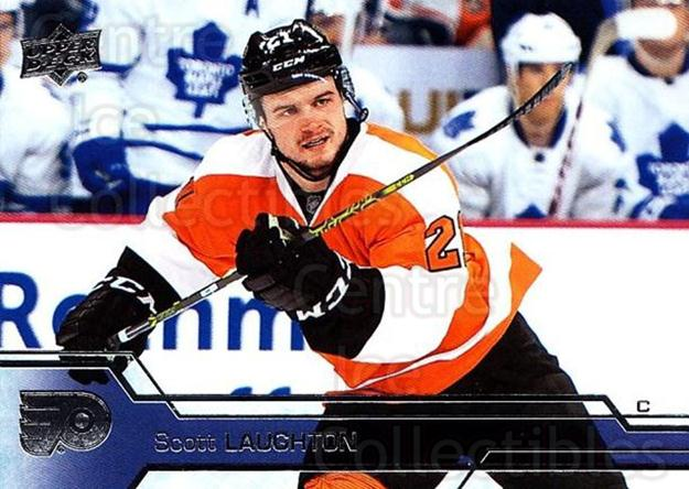 2016-17 Upper Deck #391 Scott Laughton<br/>11 In Stock - $1.00 each - <a href=https://centericecollectibles.foxycart.com/cart?name=2016-17%20Upper%20Deck%20%23391%20Scott%20Laughton...&quantity_max=11&price=$1.00&code=693095 class=foxycart> Buy it now! </a>
