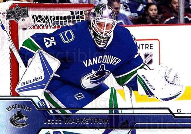 2016-17 Upper Deck #433 Jacob Markstrom<br/>6 In Stock - $1.00 each - <a href=https://centericecollectibles.foxycart.com/cart?name=2016-17%20Upper%20Deck%20%23433%20Jacob%20Markstrom...&quantity_max=6&price=$1.00&code=693137 class=foxycart> Buy it now! </a>