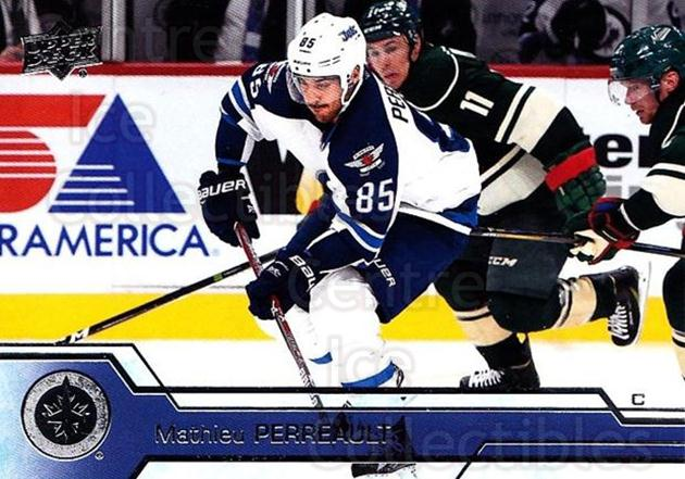 2016-17 Upper Deck #446 Mathieu Perreault<br/>12 In Stock - $1.00 each - <a href=https://centericecollectibles.foxycart.com/cart?name=2016-17%20Upper%20Deck%20%23446%20Mathieu%20Perreau...&quantity_max=12&price=$1.00&code=693150 class=foxycart> Buy it now! </a>