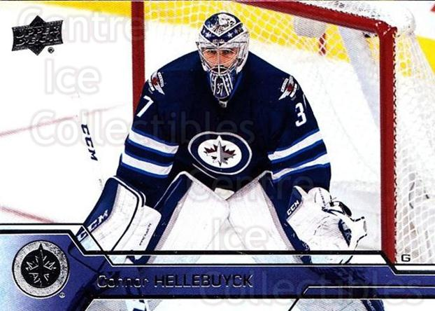 2016-17 Upper Deck #448 Connor Hellebuyck<br/>6 In Stock - $1.00 each - <a href=https://centericecollectibles.foxycart.com/cart?name=2016-17%20Upper%20Deck%20%23448%20Connor%20Hellebuy...&quantity_max=6&price=$1.00&code=693152 class=foxycart> Buy it now! </a>
