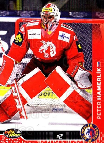2013-14 Czech OFS #417 Peter Hamerlik<br/>1 In Stock - $2.00 each - <a href=https://centericecollectibles.foxycart.com/cart?name=2013-14%20Czech%20OFS%20%23417%20Peter%20Hamerlik...&quantity_max=1&price=$2.00&code=693305 class=foxycart> Buy it now! </a>