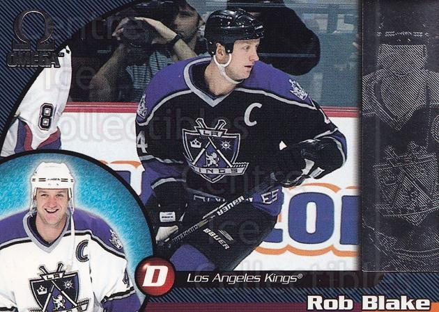 1998-99 Omega #109 Rob Blake<br/>5 In Stock - $1.00 each - <a href=https://centericecollectibles.foxycart.com/cart?name=1998-99%20Omega%20%23109%20Rob%20Blake...&quantity_max=5&price=$1.00&code=69342 class=foxycart> Buy it now! </a>