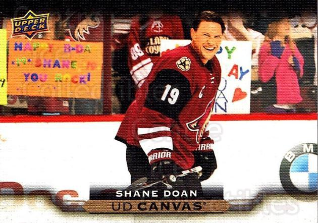 2015-16 Upper Deck Canvas #124 Shane Doan<br/>5 In Stock - $2.00 each - <a href=https://centericecollectibles.foxycart.com/cart?name=2015-16%20Upper%20Deck%20Canvas%20%23124%20Shane%20Doan...&quantity_max=5&price=$2.00&code=693511 class=foxycart> Buy it now! </a>