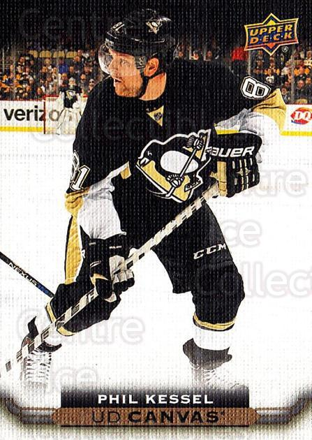 2015-16 Upper Deck Canvas #188 Phil Kessel<br/>3 In Stock - $2.00 each - <a href=https://centericecollectibles.foxycart.com/cart?name=2015-16%20Upper%20Deck%20Canvas%20%23188%20Phil%20Kessel...&quantity_max=3&price=$2.00&code=693575 class=foxycart> Buy it now! </a>
