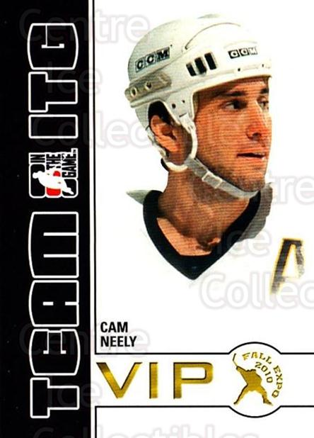 2010-11 ITG Fall Expo Team ITG VIP #5 Cam Neely<br/>5 In Stock - $3.00 each - <a href=https://centericecollectibles.foxycart.com/cart?name=2010-11%20ITG%20Fall%20Expo%20Team%20ITG%20VIP%20%235%20Cam%20Neely...&quantity_max=5&price=$3.00&code=693944 class=foxycart> Buy it now! </a>