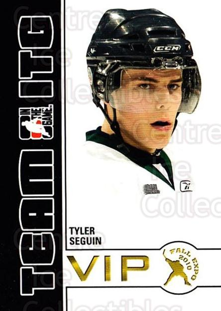 2010-11 ITG Fall Expo Team ITG VIP #42 Tyler Seguin<br/>4 In Stock - $3.00 each - <a href=https://centericecollectibles.foxycart.com/cart?name=2010-11%20ITG%20Fall%20Expo%20Team%20ITG%20VIP%20%2342%20Tyler%20Seguin...&quantity_max=4&price=$3.00&code=693981 class=foxycart> Buy it now! </a>