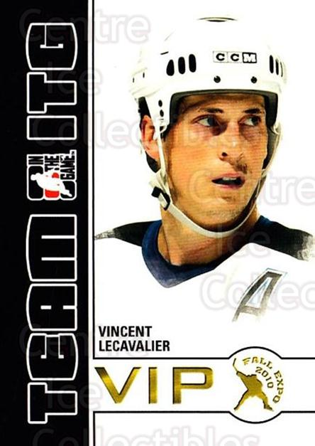 2010-11 ITG Fall Expo Team ITG VIP #44 Vincent Lecavalier<br/>5 In Stock - $3.00 each - <a href=https://centericecollectibles.foxycart.com/cart?name=2010-11%20ITG%20Fall%20Expo%20Team%20ITG%20VIP%20%2344%20Vincent%20Lecaval...&quantity_max=5&price=$3.00&code=693983 class=foxycart> Buy it now! </a>