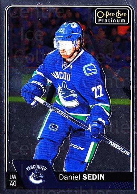 2016-17 O-Pee-Chee Platinum #28 Daniel Sedin<br/>2 In Stock - $1.00 each - <a href=https://centericecollectibles.foxycart.com/cart?name=2016-17%20O-Pee-Chee%20Platinum%20%2328%20Daniel%20Sedin...&price=$1.00&code=694021 class=foxycart> Buy it now! </a>