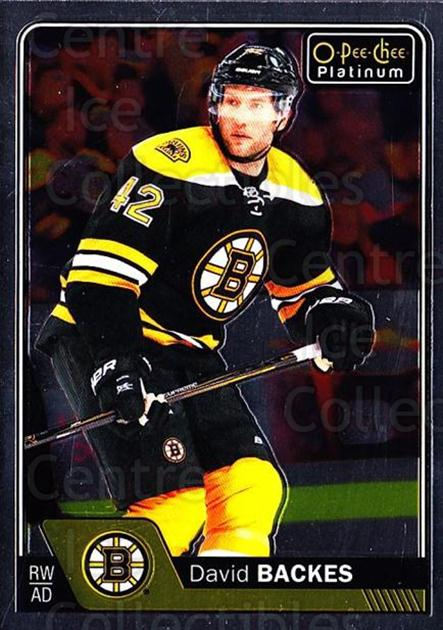 2016-17 O-Pee-Chee Platinum #32 David Backes<br/>3 In Stock - $1.00 each - <a href=https://centericecollectibles.foxycart.com/cart?name=2016-17%20O-Pee-Chee%20Platinum%20%2332%20David%20Backes...&quantity_max=3&price=$1.00&code=694025 class=foxycart> Buy it now! </a>