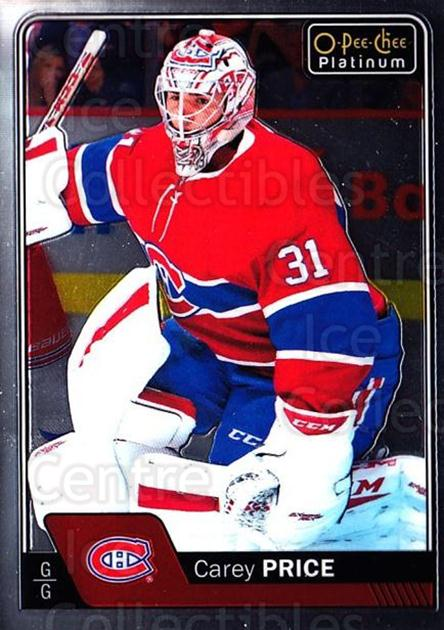 2016-17 O-Pee-Chee Platinum #125 Carey Price<br/>1 In Stock - $5.00 each - <a href=https://centericecollectibles.foxycart.com/cart?name=2016-17%20O-Pee-Chee%20Platinum%20%23125%20Carey%20Price...&quantity_max=1&price=$5.00&code=694118 class=foxycart> Buy it now! </a>