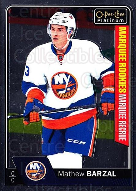 2016-17 O-Pee-Chee Platinum #188 Mathew Barzal<br/>1 In Stock - $10.00 each - <a href=https://centericecollectibles.foxycart.com/cart?name=2016-17%20O-Pee-Chee%20Platinum%20%23188%20Mathew%20Barzal...&quantity_max=1&price=$10.00&code=694181 class=foxycart> Buy it now! </a>