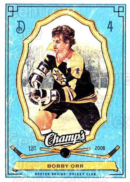 2009-10 Upper Deck Champs #10 Bobby Orr<br/>2 In Stock - $3.00 each - <a href=https://centericecollectibles.foxycart.com/cart?name=2009-10%20Upper%20Deck%20Champs%20%2310%20Bobby%20Orr...&price=$3.00&code=694203 class=foxycart> Buy it now! </a>