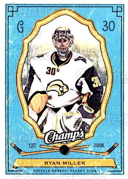 2009-10 Upper Deck Champs #14 Ryan Miller<br/>3 In Stock - $1.00 each - <a href=https://centericecollectibles.foxycart.com/cart?name=2009-10%20Upper%20Deck%20Champs%20%2314%20Ryan%20Miller...&quantity_max=3&price=$1.00&code=694207 class=foxycart> Buy it now! </a>