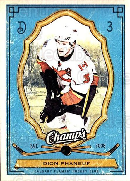 2009-10 Upper Deck Champs #17 Dion Phaneuf<br/>2 In Stock - $1.00 each - <a href=https://centericecollectibles.foxycart.com/cart?name=2009-10%20Upper%20Deck%20Champs%20%2317%20Dion%20Phaneuf...&price=$1.00&code=694210 class=foxycart> Buy it now! </a>