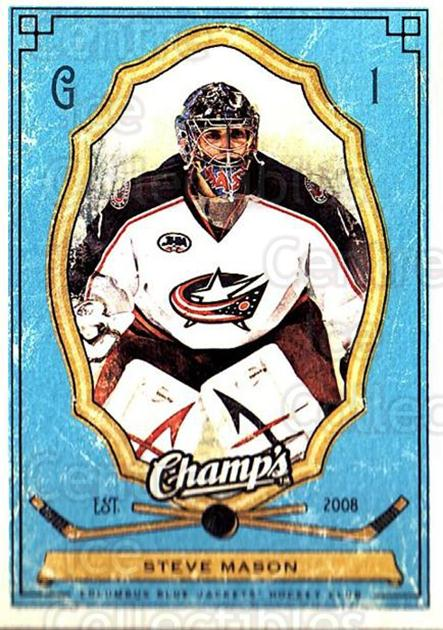 2009-10 Upper Deck Champs #29 Steve Mason<br/>2 In Stock - $1.00 each - <a href=https://centericecollectibles.foxycart.com/cart?name=2009-10%20Upper%20Deck%20Champs%20%2329%20Steve%20Mason...&quantity_max=2&price=$1.00&code=694222 class=foxycart> Buy it now! </a>