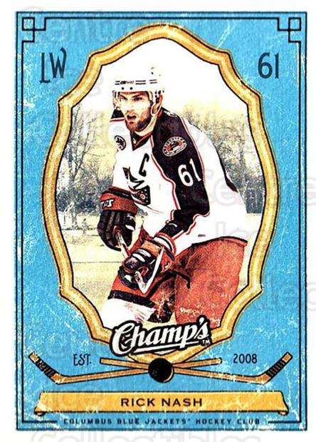 2009-10 Upper Deck Champs #30 Rick Nash<br/>3 In Stock - $1.00 each - <a href=https://centericecollectibles.foxycart.com/cart?name=2009-10%20Upper%20Deck%20Champs%20%2330%20Rick%20Nash...&quantity_max=3&price=$1.00&code=694223 class=foxycart> Buy it now! </a>