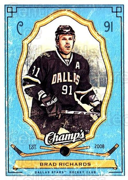 2009-10 Upper Deck Champs #33 Brad Richards<br/>2 In Stock - $1.00 each - <a href=https://centericecollectibles.foxycart.com/cart?name=2009-10%20Upper%20Deck%20Champs%20%2333%20Brad%20Richards...&quantity_max=2&price=$1.00&code=694226 class=foxycart> Buy it now! </a>