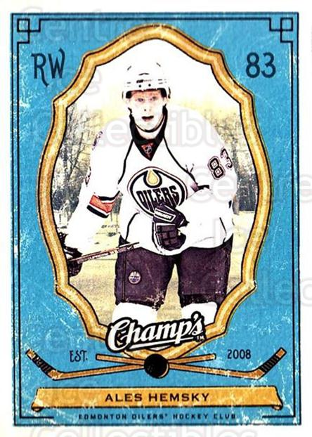 2009-10 Upper Deck Champs #46 Ales Hemsky<br/>3 In Stock - $1.00 each - <a href=https://centericecollectibles.foxycart.com/cart?name=2009-10%20Upper%20Deck%20Champs%20%2346%20Ales%20Hemsky...&quantity_max=3&price=$1.00&code=694239 class=foxycart> Buy it now! </a>
