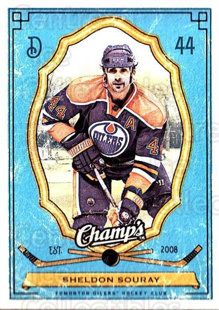 2009-10 Upper Deck Champs #47 Sheldon Souray<br/>2 In Stock - $1.00 each - <a href=https://centericecollectibles.foxycart.com/cart?name=2009-10%20Upper%20Deck%20Champs%20%2347%20Sheldon%20Souray...&quantity_max=2&price=$1.00&code=694240 class=foxycart> Buy it now! </a>