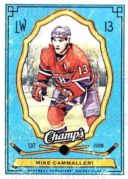 2009-10 Upper Deck Champs #58 Mike Cammalleri<br/>3 In Stock - $1.00 each - <a href=https://centericecollectibles.foxycart.com/cart?name=2009-10%20Upper%20Deck%20Champs%20%2358%20Mike%20Cammalleri...&quantity_max=3&price=$1.00&code=694251 class=foxycart> Buy it now! </a>