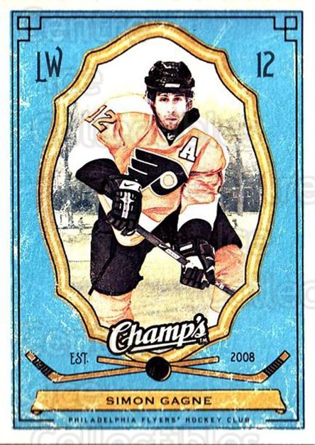 2009-10 Upper Deck Champs #77 Simon Gagne<br/>3 In Stock - $1.00 each - <a href=https://centericecollectibles.foxycart.com/cart?name=2009-10%20Upper%20Deck%20Champs%20%2377%20Simon%20Gagne...&quantity_max=3&price=$1.00&code=694270 class=foxycart> Buy it now! </a>