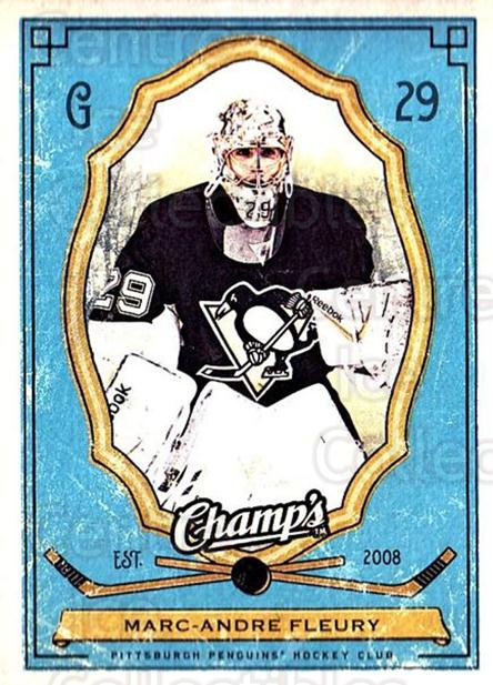 2009-10 Upper Deck Champs #81 Marc-Andre Fleury<br/>2 In Stock - $2.00 each - <a href=https://centericecollectibles.foxycart.com/cart?name=2009-10%20Upper%20Deck%20Champs%20%2381%20Marc-Andre%20Fleu...&quantity_max=2&price=$2.00&code=694274 class=foxycart> Buy it now! </a>