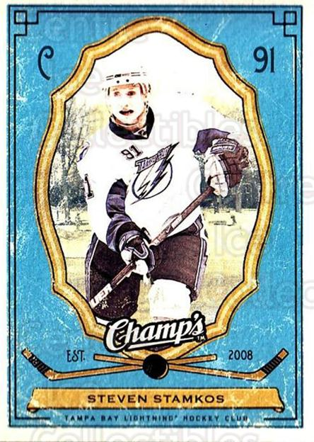 2009-10 Upper Deck Champs #89 Steven Stamkos<br/>1 In Stock - $1.00 each - <a href=https://centericecollectibles.foxycart.com/cart?name=2009-10%20Upper%20Deck%20Champs%20%2389%20Steven%20Stamkos...&price=$1.00&code=694282 class=foxycart> Buy it now! </a>