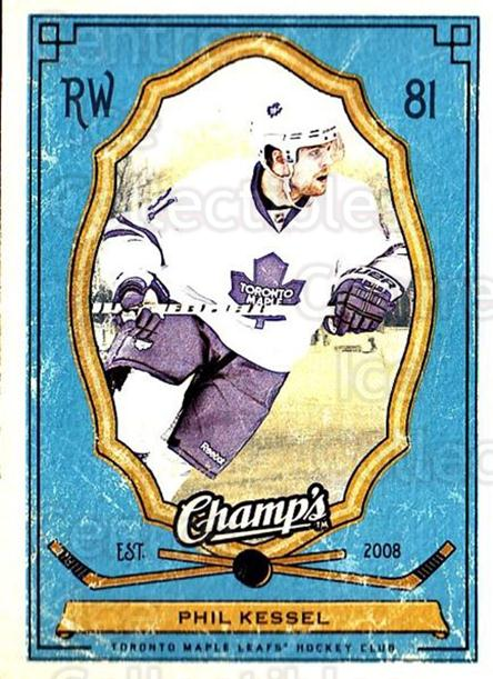 2009-10 Upper Deck Champs #90 Phil Kessel<br/>2 In Stock - $1.00 each - <a href=https://centericecollectibles.foxycart.com/cart?name=2009-10%20Upper%20Deck%20Champs%20%2390%20Phil%20Kessel...&quantity_max=2&price=$1.00&code=694283 class=foxycart> Buy it now! </a>